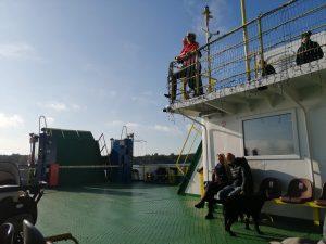 Passengers ferry in Klaipeda