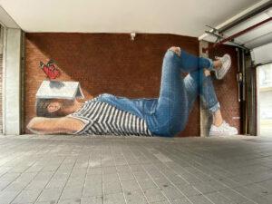 Toon Van Ishoven Mural Daydreamer